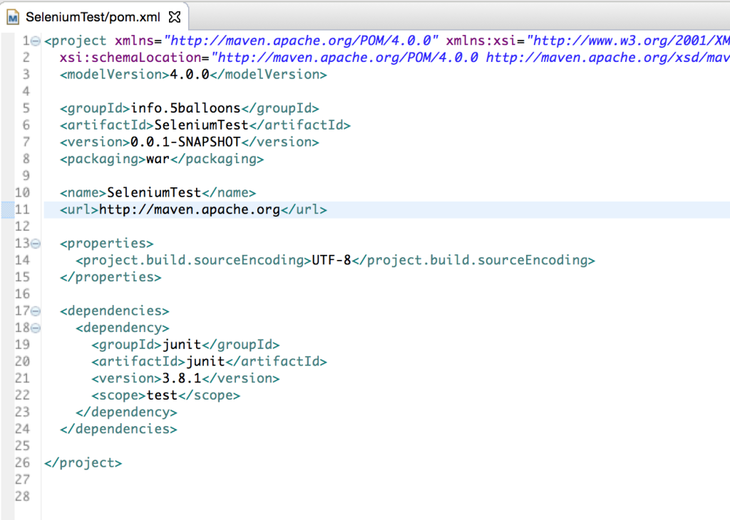 Write Selenium Test Cases With Junit Maven And Eclipse