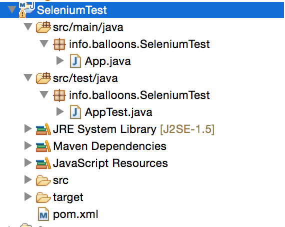 Write Selenium test cases with Junit (Maven and Eclipse) – 5