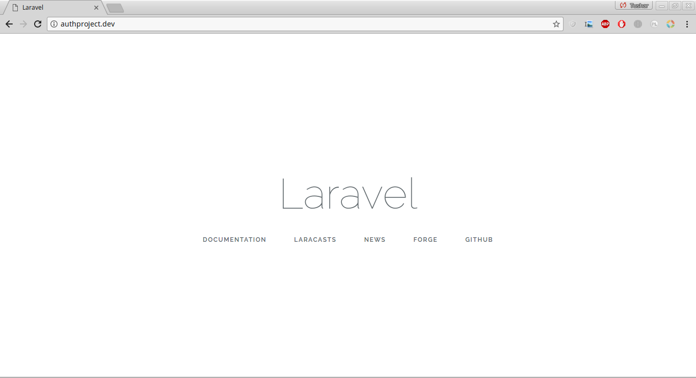 How to Install Laravel 5 5 with XAMPP on Linux – 5 Balloons