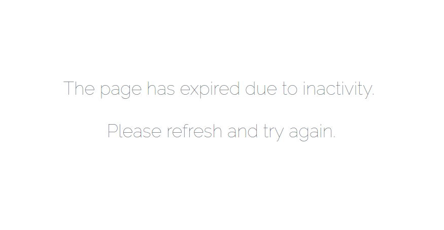 Fixed] The page has expired due to inactivity in Laravel 5 – 5 Balloons