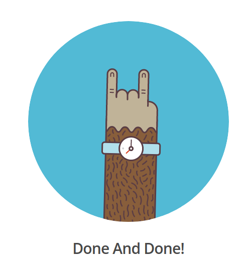 done and done mailchimp