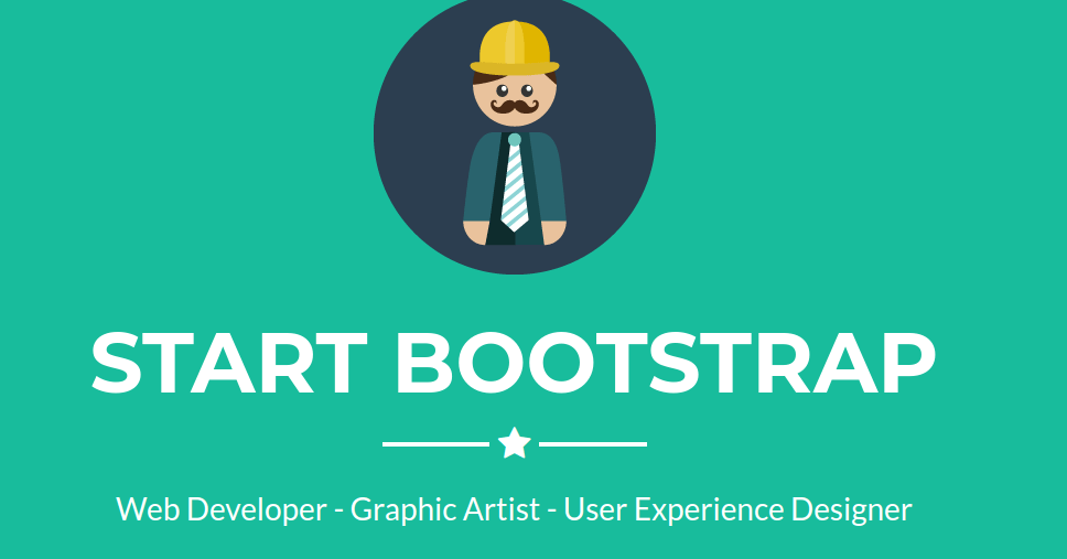 Bootstrap Freelancer Template Hero Section