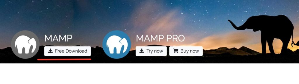 Download MAMP Laravel