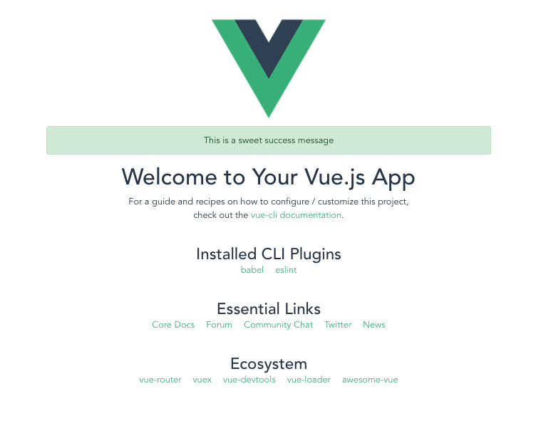 install bootstrap to vue project